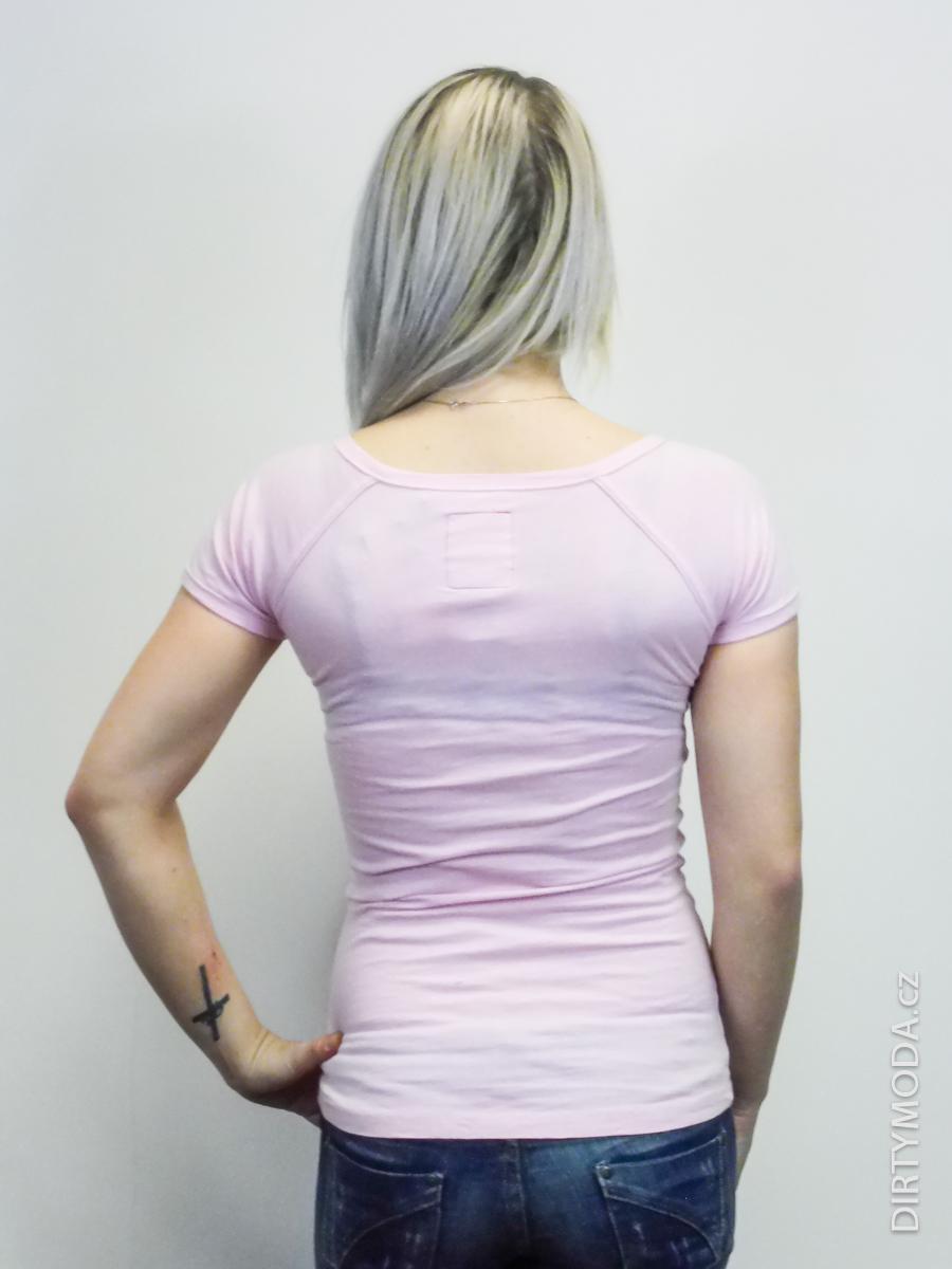 11de68c3631 Dámská trička   Tričko ZUELEMENTS růžové