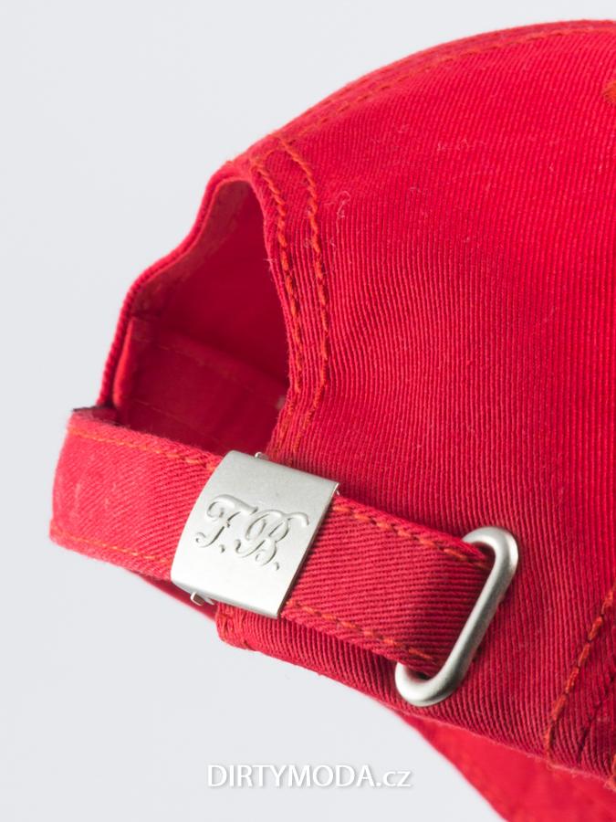 Dámské kšiltovky   Kšiltovka THE FRESH BRAND červená d9685f38d9