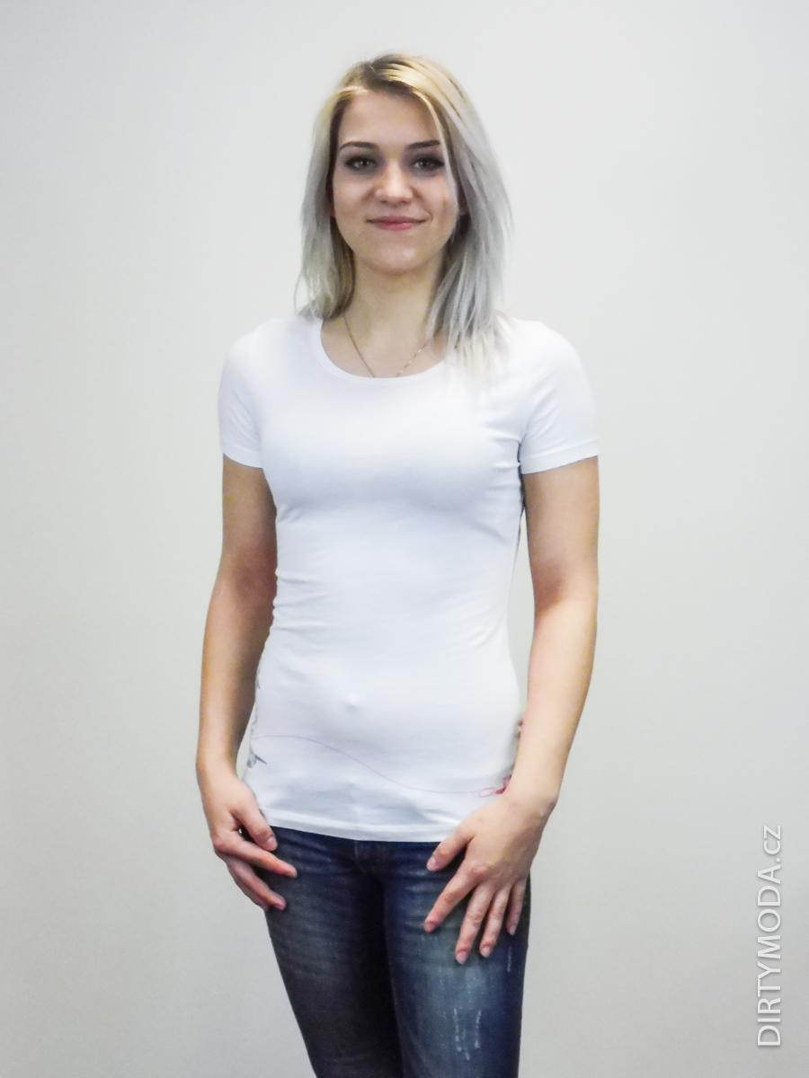Dámská trička   Bílé tričko OAKLEY 2302ba40b7